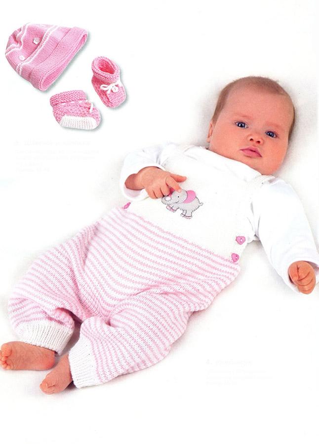 Костюм дл новорожденного вязать спицами
