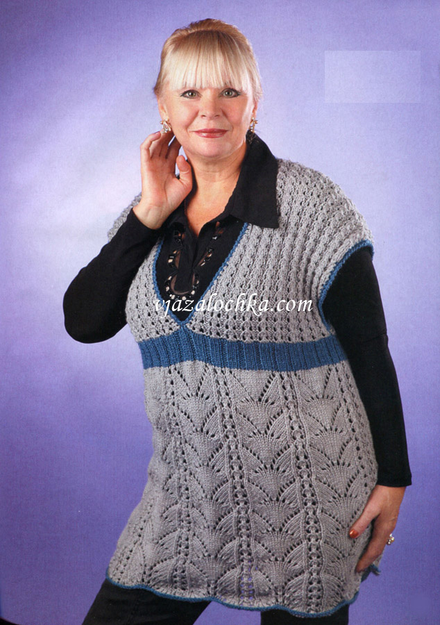 Модные кофточки для полных женщин