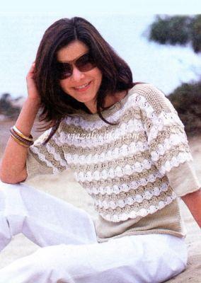 Вязание для женщин, пуловер